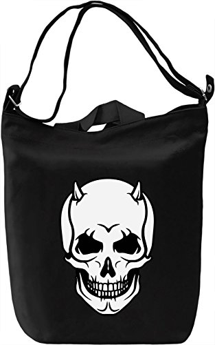 Skulls Borsa Giornaliera Canvas Canvas Day Bag| 100% Premium Cotton Canvas| DTG Printing|