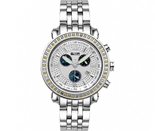 Joe Rodeo Diamond Men's Watch - TYLER silver 2.5 ctw