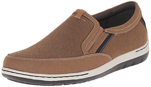 On Slip Dunham - Dunham Men's Fitsync Slip On Shoe,Tan,9 4E US