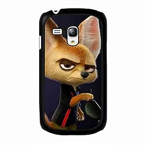 Samsung Galaxy S3 Mini funda,Zootopia Finnick High Quality Cover Walt Disney Hard Rubber funda