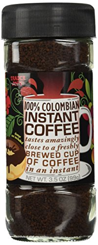 Trader Joe's 100% Colombian Instant Coffee 3.5oz