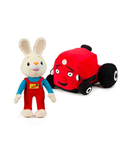 Baby First TV - Plush Set - Harry the Bunny and Tec the Tractor - PERFECT BIRTHDAY GIFT (Baby First Tv Characters)