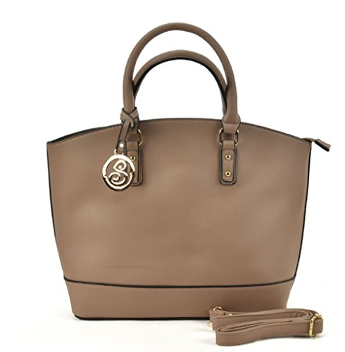 SALLY Handbag Large Style YOUNG Oversized Camel Bag Fashion Leather Ladies Bag Faux Women Tote Celebrity Tote RqpnrRWP