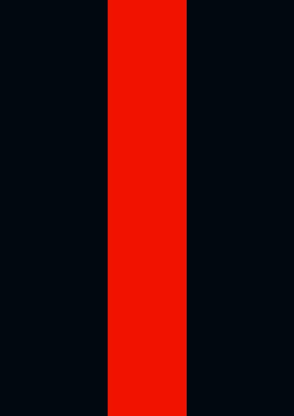 Toland Home Garden 1110868 Thin Red Line 12.5 x 18 Inch Decorative, Garden-Small-12.5x18-Inch, Garden Flag