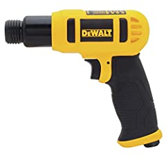 """The DEWALT DWMT70785 Air Chisel Hammer features a light weight aluminum body with a medium barrel design, and a shock absorbing handle for user comfort and ease. This air chisel has a touch control trigger for easy user control. It has a 1/4""""..."""