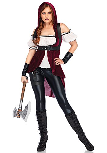 Adult Huntress Costumes (Rebel Red Huntress Adult Costume - Large)