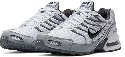 the latest 9a7d9 cafda NIKE Mens Air Max Torch 4 Running Shoe (7 D(M) US, White Anthracite Wolf  Grey)