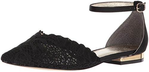 Adrianna Papell Women's TRALA Mary Jane Flat, Black attalie lace, 9.5 M US