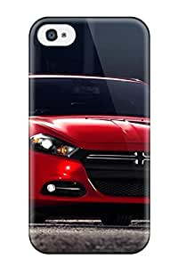 New Snap-on Skin Case Cover Compatible For Apple Iphone 4/4S Case Cover - Dodge Dart Front