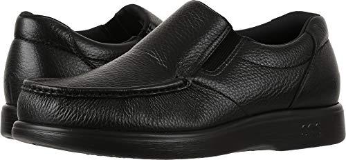 SAS Men's, Sidegore Slip on Shoes Black 13 WW (Leather Side Gore)