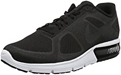 Nike Men Air Max Sequent Running Shoes Blackwolf Greywhitemetallic Hematite 12