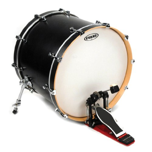 Daddario Coated Bass - Evans Heads BD22G2CW 22-Inch G2 Coated Bass Drum Heads