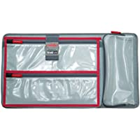 New Lid organizer for Pelican 1510 case. 3 Front pouches & 1 pouch for tablets or small laptops.