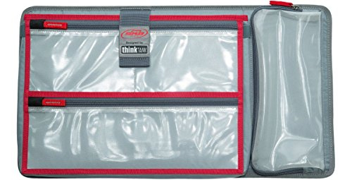 New Lid organizer for Pelican 1510 cases. 3 Front pouches & 1 pouch for tablets or small laptops. ()