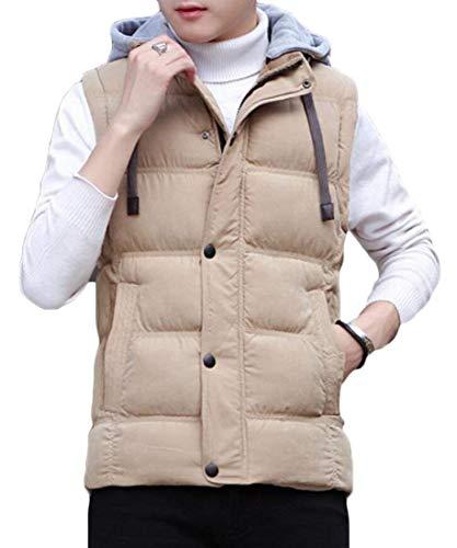 Kangqi Vêtements Hommes De 2 Hoodies Pour Épais Manches Sans qTq4xrdw