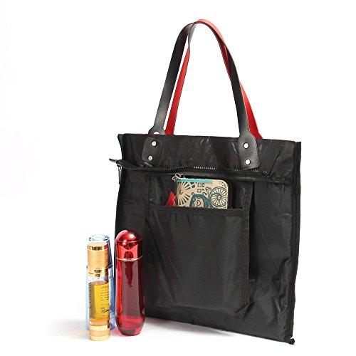 Bag Plaid Female Shopping Shoulder Handbag Tote Folded Women Bags 6 Casual BagCasual Handbag 2 Geometric Bag 7xvnf