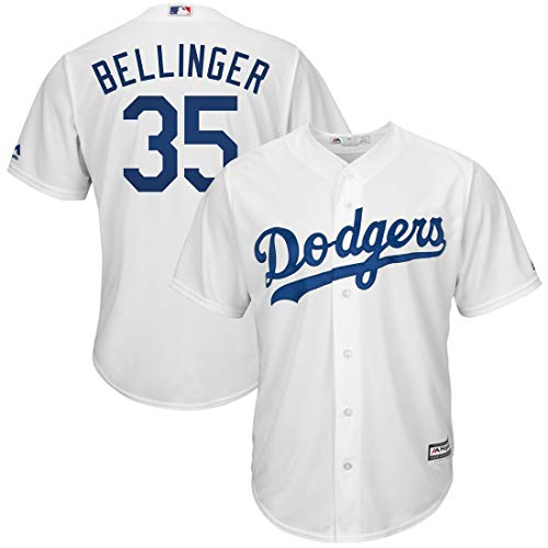 Outerstuff Youth Kids Los Angeles Dodgers 35 Cody Bellinger Baseball Jersey White Size 10-12 M ()