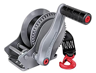Reese Powersports 7064700 Marina Collection Winch (1500 Lb.)