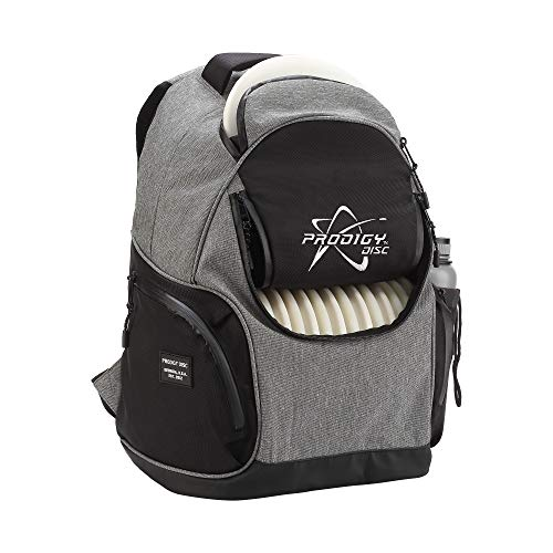 Prodigy Disc BP-3 V2 Disc Golf Backpack - Fits 17 Discs - Beginner Friendly, Affordable (Heather Gray/Black) by Prodigy Disc (Image #4)