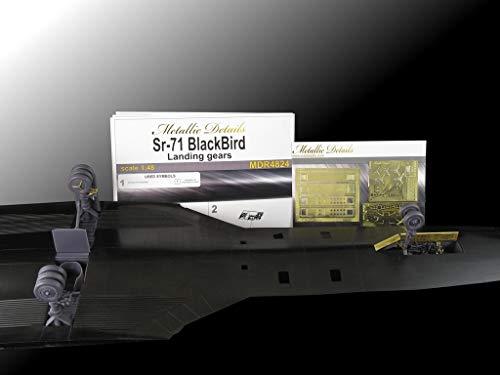 Metallic Details SR-71 Blackbird. Landing Gears (Testors/Italeri) 1/48 MDR4824 1
