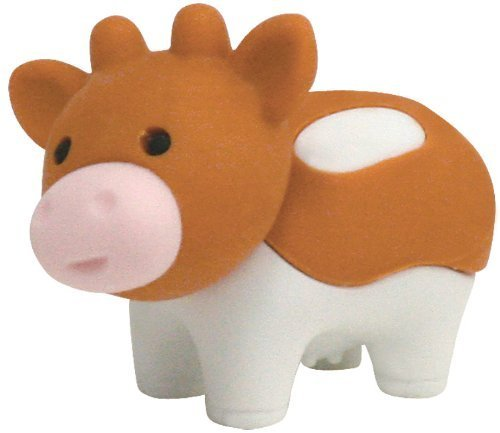 Daisy Erasers - Ty Eraserz Daisy Cow Iwako Japanese Puzzle Eraser by Ty
