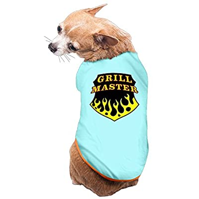 Vgd Grill Master art logo SkyBlue Fashion Dog T-shirt