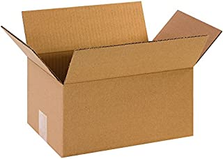 """product image for Partners Brand P1286 Corrugated Boxes, 12""""L x 8""""W x 6""""H, Kraft (Pack of 25)"""
