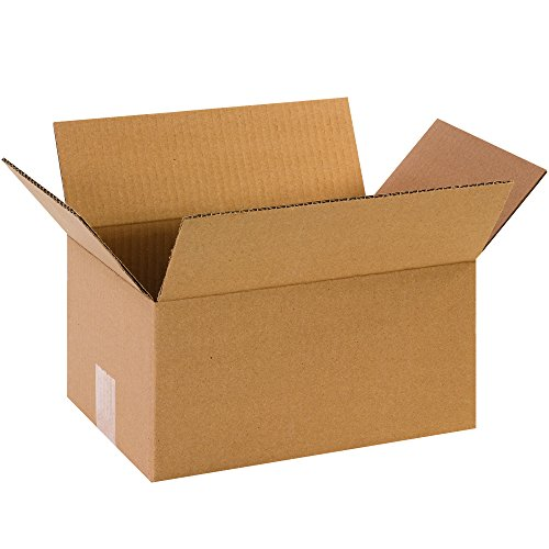 Small Moving Boxes (Pack of 25) for Packing, Shipping, Moving and Storage from BOX USA