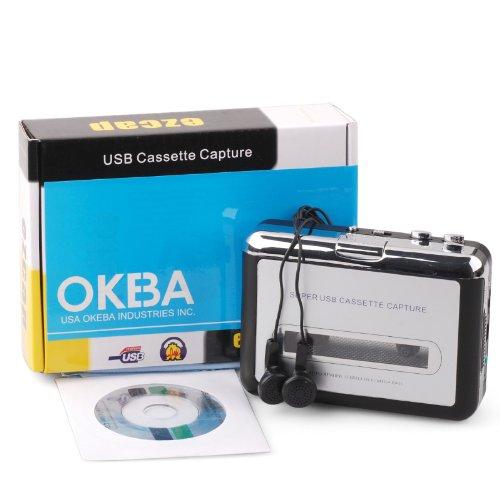 OKEBA New Handheld Super Tape to Mp3 Converter PC USB Por...