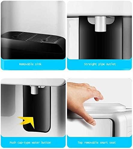 Distributeurs d'eau Chaude pour la Cuisine Rapide Faire bouillir Liner Métal Glace Mode de Chaleur en Acier Inoxydable Chauffage,Warm