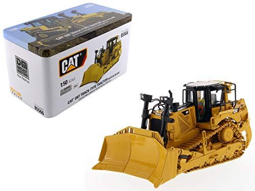 (Diecast Masters CAT Caterpillar D8T Track Type Tractor Dozer 8U Blade Operator High Line Series 1/50 Diecast Model)