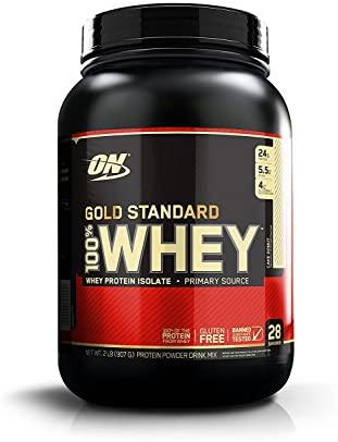 Optimum Nutrition 100 Whey Gold Standard, Cake Donut, 2 Pounds