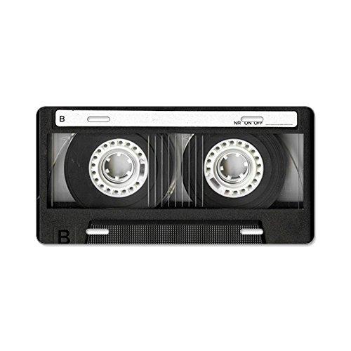 CafePress - Retro, Mixtape Aluminum License Plate -