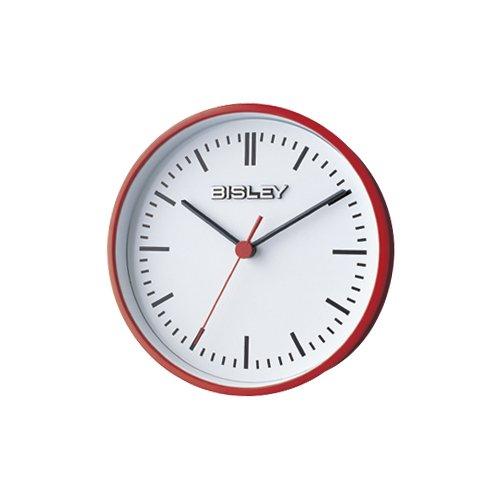 BISLEY クロック レッド B0025X5Z1O Red Red