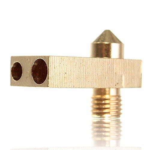 Doradus Ultimaker 2 m2u buse + heaterblock 0.4mm pour 1.75mm incandescence tête d'impression de l'imprimante 3d accessoires