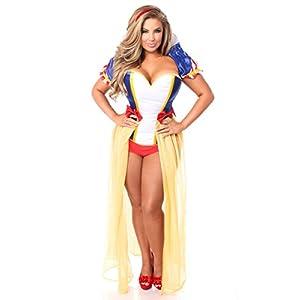 5ff5a1ce239 Halloween Costumes. Women s Lavish 4 Piece Snow Princess Costume (Daisy  Corsets).  142.72. Villain Costumes. Plus-Size ...