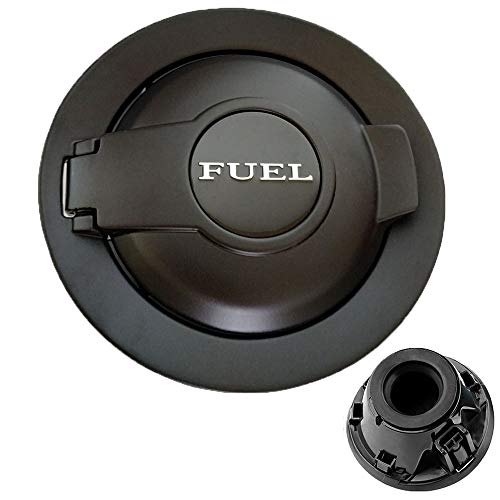 dodge challenger fuel door black - 9