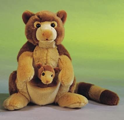 Amazon Com Le 12 Tree Kangaroo With Baby Plush Stuffed Animal Toy