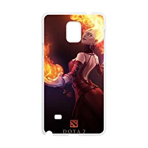 Samsung Galaxy Note 4 Cell Phone Case White Defense Of The Ancients Dota 2 LINA 006 VS5331890