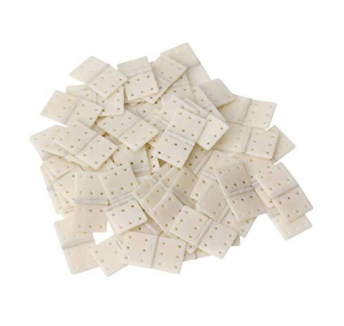 Karcy Large Size Nylon Pinned Hinges RC Airplane Plane Parts Replacement 20Pcs - Plastic Parts Plane