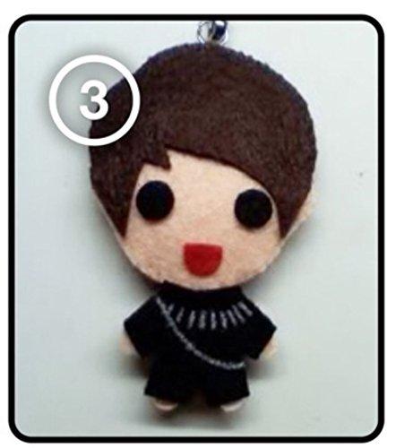 Infinite Woohyun - Paradise KPOP Handmade Doll Keychain