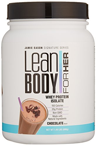 Jamie Eason Signature Series Whey Protein Isolate, Lean Protein Powder for Women with Natural Ingredients & No Gluten or Lactose (Chocolate), 1.49 Pound