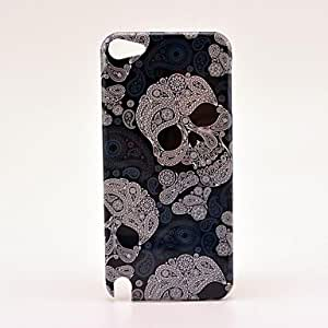 Buy Cool Pretty Grey Skull Pattern Hard Case for iPod Touch 5