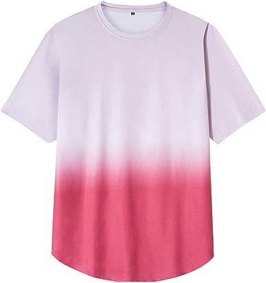 Mr.BaoLong&Miss.GO Camiseta De Moda De Verano para Hombre ...