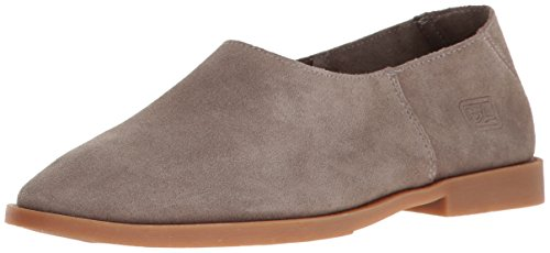 Dirty Laundry by Chinese Laundry Women's Kicked Out Flat, Grey Suede, 8 M US