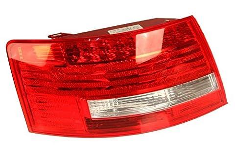 Audi A6 S6 OEM LED Tail Light Assembly Rear Outer Left / Driver Side - Audi A6 Light