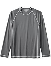 Men's Long-Sleeve Quick-Dry UPF 50 Swim Tee
