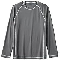 Amazon Essentials Men's Long-Sleeve Quick-Dry UPF 50 Swim Tee
