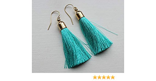 bridesmaid earrings mint green earrings light blue earrings aquamarine earring Mint Blue earrings statement earrings birthday gifts