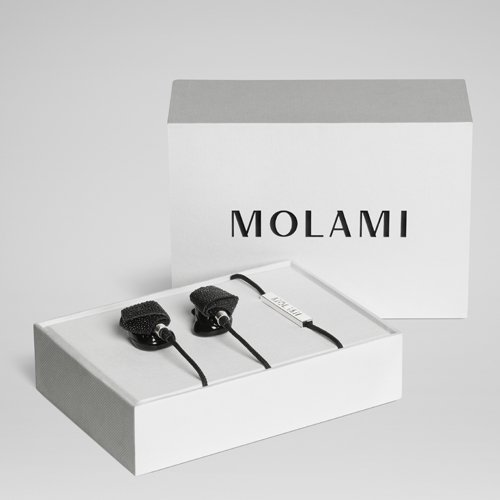 Molami Bight 04090813 Earbud Fashion Headphone (Black/Stingray) by Molami (Image #1)
